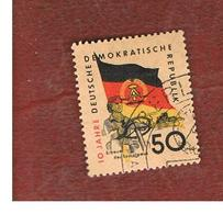 GERMANIA EST (EAST GERMANY) (DDR) - SG E461 - 1959 10^ ANNIVERSARY OF DDR 50  -  USED - Usati