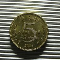 Sri Lanka 5 Rupees 2006 - Sri Lanka
