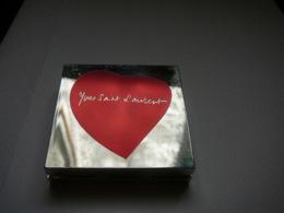 """YVES SAINT LAURENT: """" LOVE COLLECTION"""" POUDRE COMPACTE TEINT AVEC MIROIR LIRE ET VOIR !! - Unclassified"""
