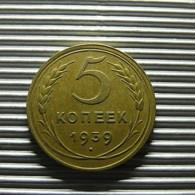 Russia 5 Kopeks 1939 - Russia