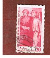 GERMANIA EST (EAST GERMANY) (DDR) - SG E495 - 1960 15^ ANNIVERSARY OF LIBERATION  -  USED - [6] Repubblica Democratica