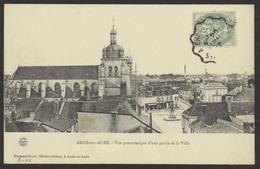 D 10 - ARCIS SUR AUBE - Vue Panoramique - Ed. Gradassy-Royer - Voyagée 1907 - Arcis Sur Aube