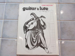 Guitar & Lute N°4 Complimentary 1977 - Revues & Journaux