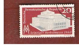 GERMANIA EST (EAST GERMANY) (DDR) - SG E514 - 1960  LEIPZIG AUTUMN FAIR  -  USED - [6] Repubblica Democratica