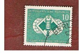 GERMANIA EST (EAST GERMANY) (DDR) - SG E518 - 1960  CHESS OLYMPIAD  -  USED - [6] Repubblica Democratica