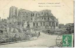 Cpa 60 Noyon , Ww1 , Ruines De La Cathédrale , Voyagée 1922 - Noyon