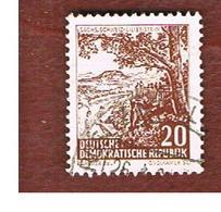 GERMANIA EST (EAST GERMANY) (DDR) - SG E549 - 1961  LANDSCAPES: LILIENSTEIN  -  USED - [6] Repubblica Democratica