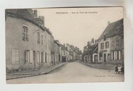 CPA  PONTGOUIN (Eure Et Loir) - Rue Du Pont De L'Aumône - Other Municipalities