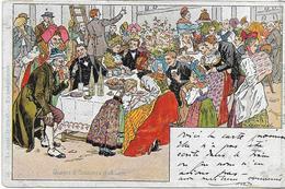 68  LOT 1 , Illustrateur Kaufmann De 8 Belles Cartes , Années 1900 , état Extra - Cartes Postales