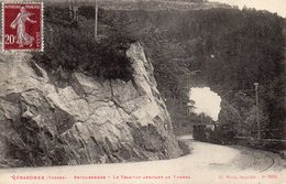 Gerardmer - Retournemer - Le Tramway Arrivant Au Tunnel - Gerardmer