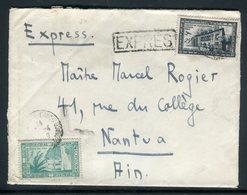Monaco - Enveloppe En Exprès Pour Nantua En 1949 , Affranchissement Plaisant -  Réf J102 - Monaco