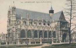 CPA - Belgique - Brussels - Bruxelles -  Eglise Du Petit Sablon - Monuments, édifices