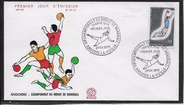 Andorre - FDC - Enveloppe 1er Jour - TB - FDC