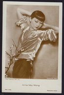ANNA MAY WONG - MOVIE FILM - OLD POSTCARD  (see Sales Conditions) - Acteurs