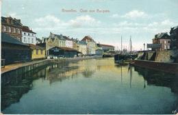 CPA - Belgique - Brussels - Bruxelles - Quai Aux Barques - Maritiem