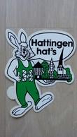Aufkleber Mit Stadt-Werbung Aus Deutschland (Hattingen) - Autocollants