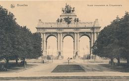 CPA - Belgique - Brussels - Bruxelles - Arcade Monumentale Du Cinquantenaire - Maritime