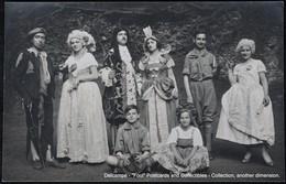 Photo Carte Card Groupe Théâtre Fotokaart Amateur Theater Scouts - Théâtre