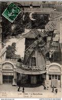 75018 PARIS - Vue Plongeante Sur Le Moulin Rouge - Arrondissement: 18
