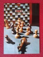 POSTAL POST CARD AJEDREZ CHESS Échecs SCHACH XADREZ PARTIDA GAME N. MARACHE - MORPHY NEW YORK 1857, PIEZAS PIECES VER FO - Postales