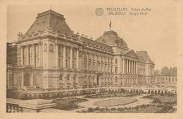 CPA - Belgique - Brussels - Bruxelles - Palais Du Roi - Monuments, édifices