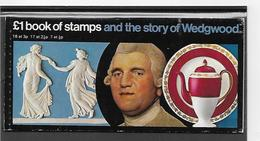 Groot-Brittannië Book Of Stamps And  The Story Of Wedgwood  Xx Postfris - Carné