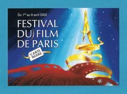 Cart à Pub.   Festival Du Film De Paris 2002.   Cinéma. - Affiches Sur Carte