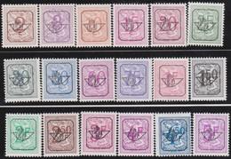 Belgie  .  OBP .     PRE  780/798        .   **  .    Postfris ZONDER  Charnier    .  / .  Neuf SANS  Charniere - Typo Precancels 1951-80 (Figure On Lion)