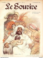 LE SOURIRE-1912- 37-Journal Humoristique-LEANDRE POULBOT HEMARD CAPY VALERIO - Books, Magazines, Comics