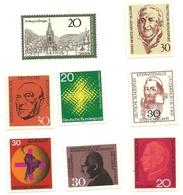 Germania - Lotto Francobolli   1Z - [7] Repubblica Federale