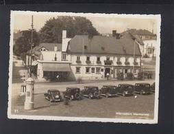 Tschechien AK Warnsdorf Varnsdorf Marktplatz Sonderstempel 1938 - Czech Republic