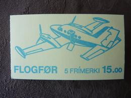 1985  FLOGFOR   5 Stamps  Airplanes  ** MNH - Féroé (Iles)