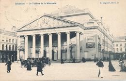 CPA - Belgique - Brussels - Bruxelles - Le Théâtre De La Monnaie - Monuments, édifices