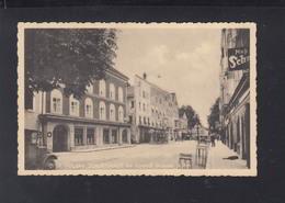 AK Hitler S Geburtshaus Mit Vorstadt Braunau A. Inn Sonderstempel - Braunau