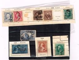 Lot  Etats-Unis Anciens à Identifier - Stamps