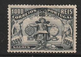 ACORES - N°74 * (1894) Dom Henrique Aviz - 1000r Noir - Signé Brun - Ohne Zuordnung