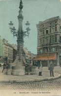 CPA - Belgique - Brussels - Bruxelles - La Fontaine De Saint-Gilles - Monuments, édifices