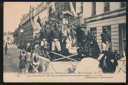 AALST  550e VERJARING DER HERBOUWING DER WERFKAPEL - Z.H.PAUS PIUS 9e Omringd Van Kardinalen - Aalst