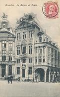 CPA - Belgique - Brussels - Bruxelles - La Maison Du Cygne - Monuments, édifices
