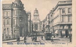 CPA - Belgique - Brussels - Bruxelles - Rue De La Régence - Monuments, édifices