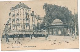 CPA - Belgique - Brussels - Bruxelles - Porte De Louvain - Monuments, édifices