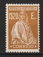 PORTUGAL - N° 431 * (1926) Cères - 1.20e Bistre - - 1910-... Republic