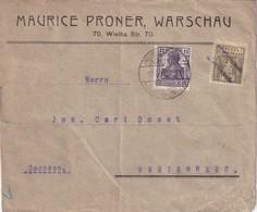 ALLEMAGNE   LETTRE DE PREUSSISCH HERBY - Germania