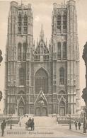 CPA - Belgique - Brussels - Bruxelles - Eglise Sainte-Gudule - Monuments, édifices