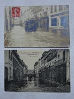 Eure Gisors Inondations De Janvier 1910 Rue De Cappeville Paul Lamaury - Gisors