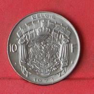 BELGIUM 10 FRANCS 1971 -    KM# 156,1 - (Nº29371) - 1951-1993: Baudouin I