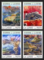 Sierra Leone 2019 Battle Of Kursk, World War II S201903 - Sierra Leone (1961-...)