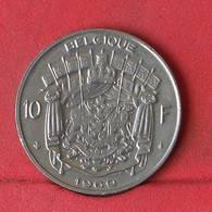BELGIUM 10 FRANCS 1969 -    KM# 155,1 - (Nº29373) - 1951-1993: Baudouin I