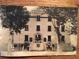 CPA, Saint Laurent De La Salanque, Gendarmerie, M Berthier Architecte, M Gill Entrepreneur, écrite En 1937 - Otros Municipios