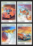 Sierra Leone 2019 Fire Engines, Helicopter   S201903 - Sierra Leone (1961-...)